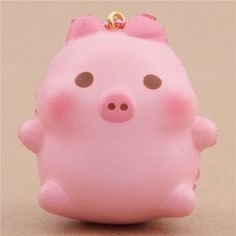 cute small pink pig scented squishy by Puni Maru
