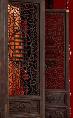 Old Chinese door Chinese Design, Asian Design, Chinese Style, Asian Furniture, Chinese Furniture, Furniture Design, Chinoiserie, Chinese Door, Chinese Element
