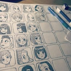 Fabulous Drawing On Creativity Ideas. Captivating Drawing On Creativity Ideas. Drawing Challenge, Art Challenge, Character Design References, Character Art, Image Princesse Disney, Animation, Exhibition Poster, Cool Drawings, Drawing Faces