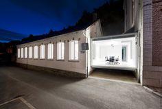 Artau Architecture - Artau Bureau, Malmedy, Belgium (2010) #renovation #rehab