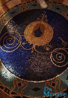 Floor inside Cinderella's Castle