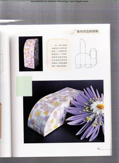 folding boxes: origami books - crafts ideas - crafts for kids