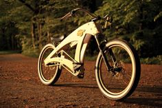 You are not really into building model airplanes or ships? I bet you'll be much more keen to build yourself a model bike. Bike, which you can ride afterwards. http://fantastisch.co/sawyerbike