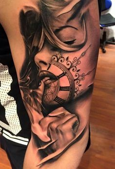 100 Awesome Watch Tattoo Designs | Art and Design