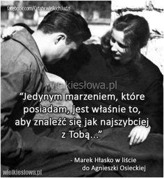 Jedynym marzeniem, które posiadam... #Hłasko-Marek,  #Marzenia-i-pragnienia, #Tęsknota-i-żal