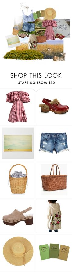 """""""I looked for you this summer"""" by emmmmmmaaaa ❤ liked on Polyvore featuring Free Country, House of Holland, Gucci, Edie Parker, J.Crew, Mr & Mrs Italy, Maryam Nassir Zadeh, Summer and dress"""