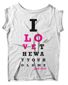 I NEED THIS SHIRT. lovee Jamie Grace!! (: