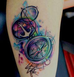Te contamos el significado de los tatuajes de brújulas y te mostramos una extensa galería de fotos de tatoos de brújulas para que puedas inspirarte.