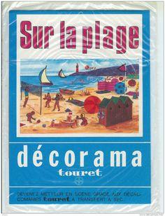 Devenz metteur en scène gràace au DECORAMA Décalcomanies  Sur la plage
