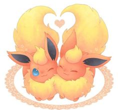Flareon. Love the eye! <3