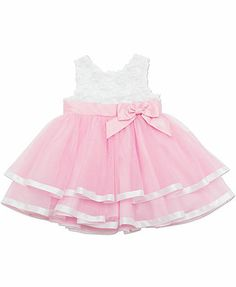 Rare Editions Baby Girls' Special Occasion Dress