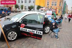 Autohaus Gerds Grimmen am Tag des Handwerks in Stralsund auf dem Alten Markt