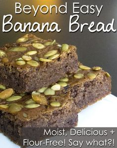 Flour free Banana Bread that ROCKS