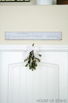So doing this next year for the arch between our living room and office!!!