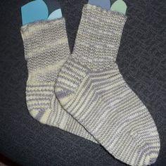 Ugly first socks #socks #knitting
