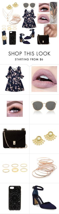 """First Date: Spring Shopping"" by roxy-crushlings ❤ liked on Polyvore featuring Christian Dior, Valentino, Red Camel, Felony Case, Manolo Blahnik and Tory Burch"