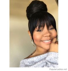 Wonderful Pictures Of Ponytail Hairstyles For Black Women – Having a great hairstyle has ever been the method. Like clothing, jewelr The post Pictures Of Ponytail Hairstyles For Black Women – H . Great Hairstyles, My Hairstyle, Black Girls Hairstyles, African Hairstyles, Hairstyles With Bangs, Weave Hairstyles, Hairstyles Pictures, Prom Hairstyles, Protective Hairstyles