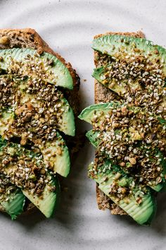 // Dukkah and Avocado Toast