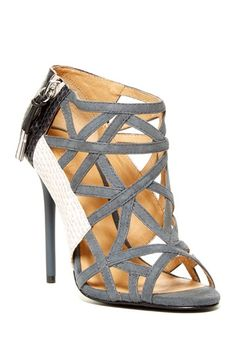 L.A.M.B. Flower Caged Sandal by L.A.M.B. on @HauteLook