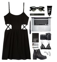 """""""#2"""" by xlaura777 ❤ liked on Polyvore featuring Forever 21, River Island, NARS Cosmetics, TokyoMilk, Pentel, Nikon, Dinks and Eberjey"""