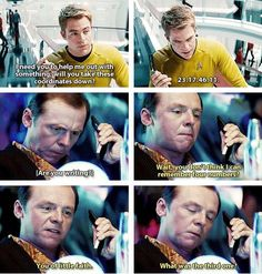 Star Trek Into Darkness great movie! I have to see it again and maybe a third time after that