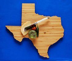 Texas Cutting Board - great gift idea