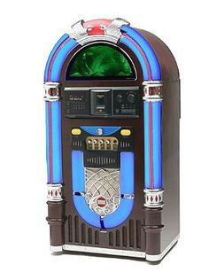 Delight your guests with hours of classic tunes with the Classic Color Changing Jukebox; reminiscent of the 1950's and sure to bring a smile to any face.