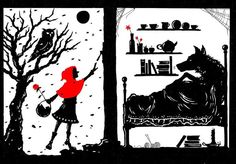Little Red Riding Hood and the Wolf... | Flickr - Photo Sharing!
