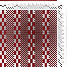 1000+ images about WEAVING DRAFTS 4S / 4-6T on Pinterest | Hand Weaving, Weaving and Threading
