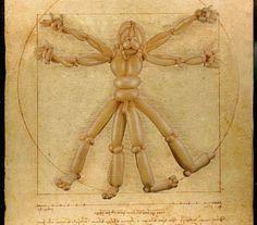 Master Works - Leonardo Da Vinci by Larry Mos. Art with balloons.