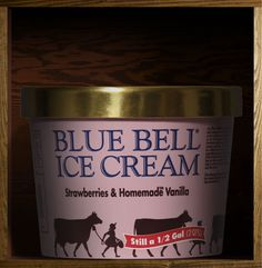 not just this one...but pretty much every blue bell ice cream is delicious