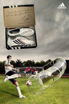 Adidas Football by King Wasp, via Behance