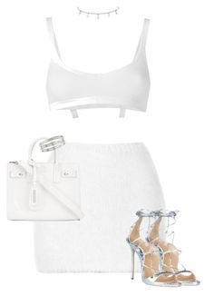 """""""Untitled #1220"""" by daisystylist ❤ liked on Polyvore featuring Rodarte, Helmut Lang, Yves Saint Laurent, Dsquared2 and Cartier"""