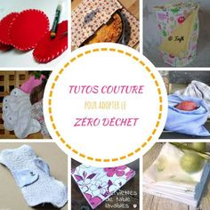 10 DIY syning for at starte et liv nul affald Diy Couture, Couture Sewing, Sewing Hacks, Sewing Tutorials, Sewing Tips, Waste Zero, Sewing Projects For Beginners, Diy Projects, Handmade Fabric Bags