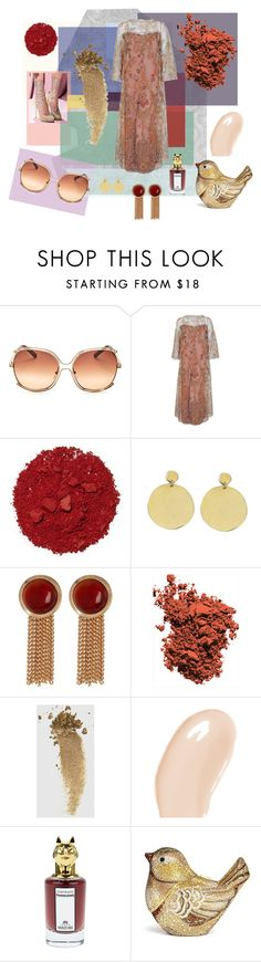 """""""femme"""" by ogypsophila ❤ liked on Polyvore featuring Chloé, Molyneux, Illamasqua, Bare Collection, Steve Madden, Tom Ford, Gucci, Burberry, PENHALIGON'S and Judith Leiber"""
