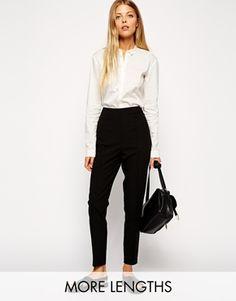 Moda- shopping, Pantaloni a vita alta, trousers,  ASOS, eruo 23,40. C'FACTOR CHOICE SS2015 FOLLOW ME!
