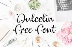 DLOLLEYS HELP: Dulcelin Free Font