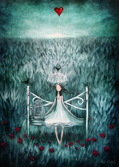 love watches over me by Amanda  Cass