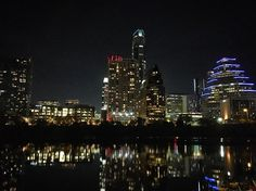 Austin Tx at night #austin #austintx #night #nightshots #nightshotsofcities #awesome #cityscape #livelife #lovelife  #bliss #beautifulview #city #austindowntown #downtown #downtownaustin #ig_shotz #downtownaustintexas by daphnem2611