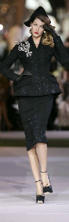 www.2locos.com Christian Dior fall 2007 by John Galliano