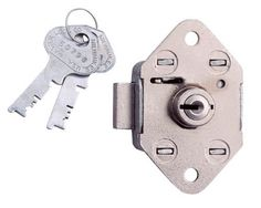 Lyon NF7020 Flat Key Lock for Locker by Lyon. $33.18. Same lock fits all lyon lockers except personal effects and exchangemaster. Easy to install and furnished with two keys. Can be used with all locker handles, and retrofitted to existing installations.