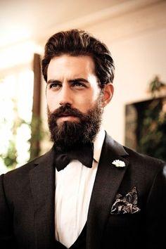 mens wedding hairstyles with beard Hipsters, Great Beards, Beard Love, Man Beard, Full Beard, Epic Beard, Long Beards, Mens Fashion Blog, Bridal Hair