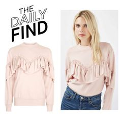 The Daily Find: Topshop Sweatshirt by polyvore-editorial  STYLE...