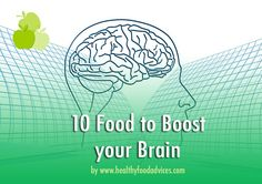 10 Food to Boost your Brain