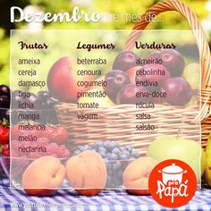 Dezembro! Food Hacks, Food And Drink, Posts, Fruit, Cooking, Breakfast, Tips, Summer, Recipes