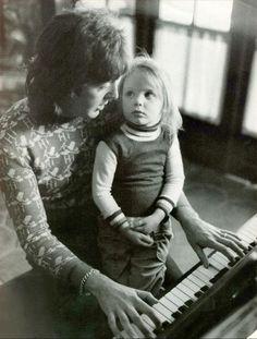 Paul McCartney y su hija Stella