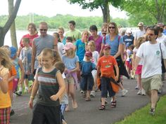Kids Walk Wisconsin supported by the Central Wisconsin Children's Museum. Held in conjunction with Walk Wisconsin walking marathon hosted in June in Portage County, Wisconsin.