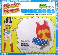 Image detail for -Wonder Woman Underoos - 1978.  Ha  ha   I had these