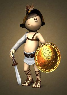 The Cute Gladiator
