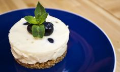 SORTED - Milky Bar Blueberry Cheesecake